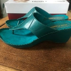 NWT Hush Puppies - Aven Copacabana Wedge Sandals
